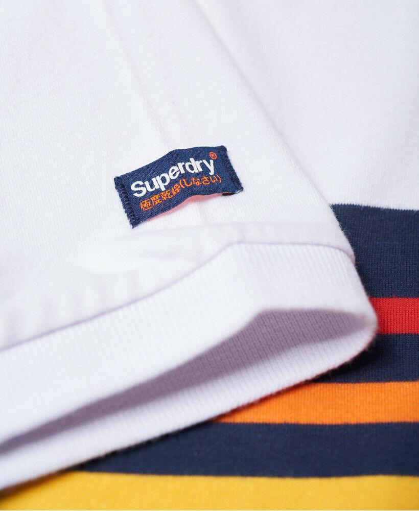Mens-Superdry-Classic-Cali-Banner-Polo-Shirt-Optic-White thumbnail 51