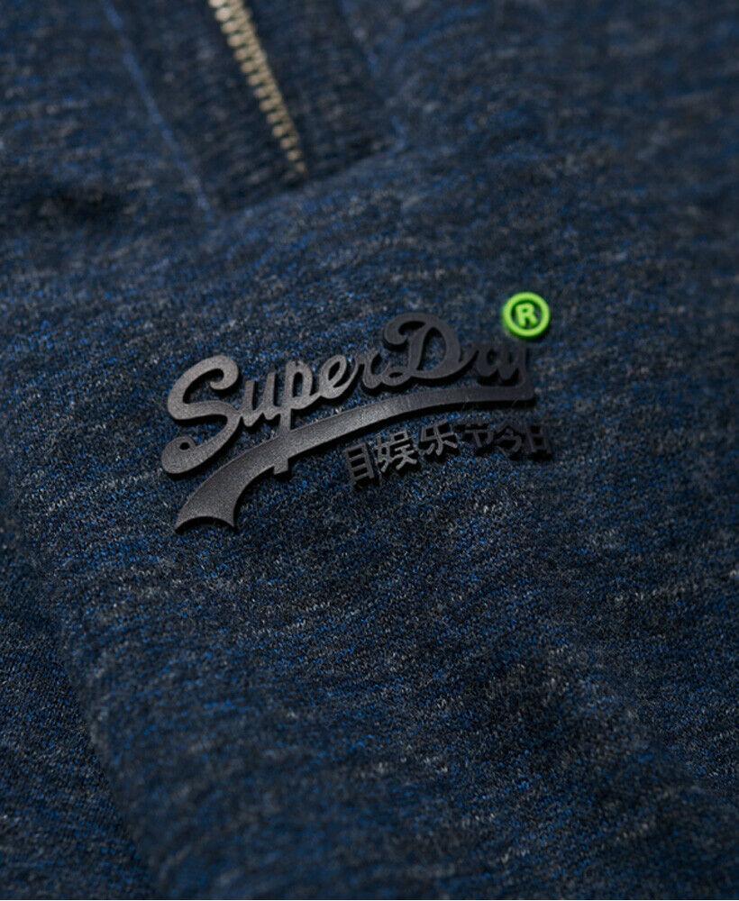 Mens-Superdry-Orange-Label-Hyper-Pop-Shorts-Depths-Blue-Grit thumbnail 8