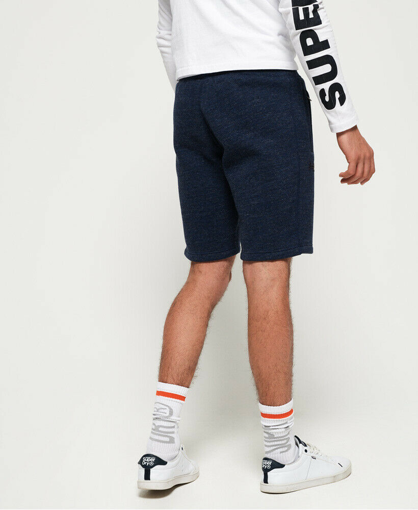 Mens-Superdry-Orange-Label-Hyper-Pop-Shorts-Depths-Blue-Grit thumbnail 9
