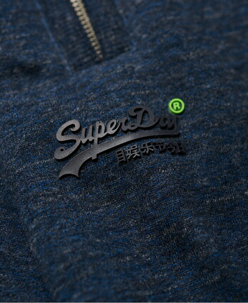 Mens-Superdry-Orange-Label-Hyper-Pop-Shorts-Depths-Blue-Grit thumbnail 13