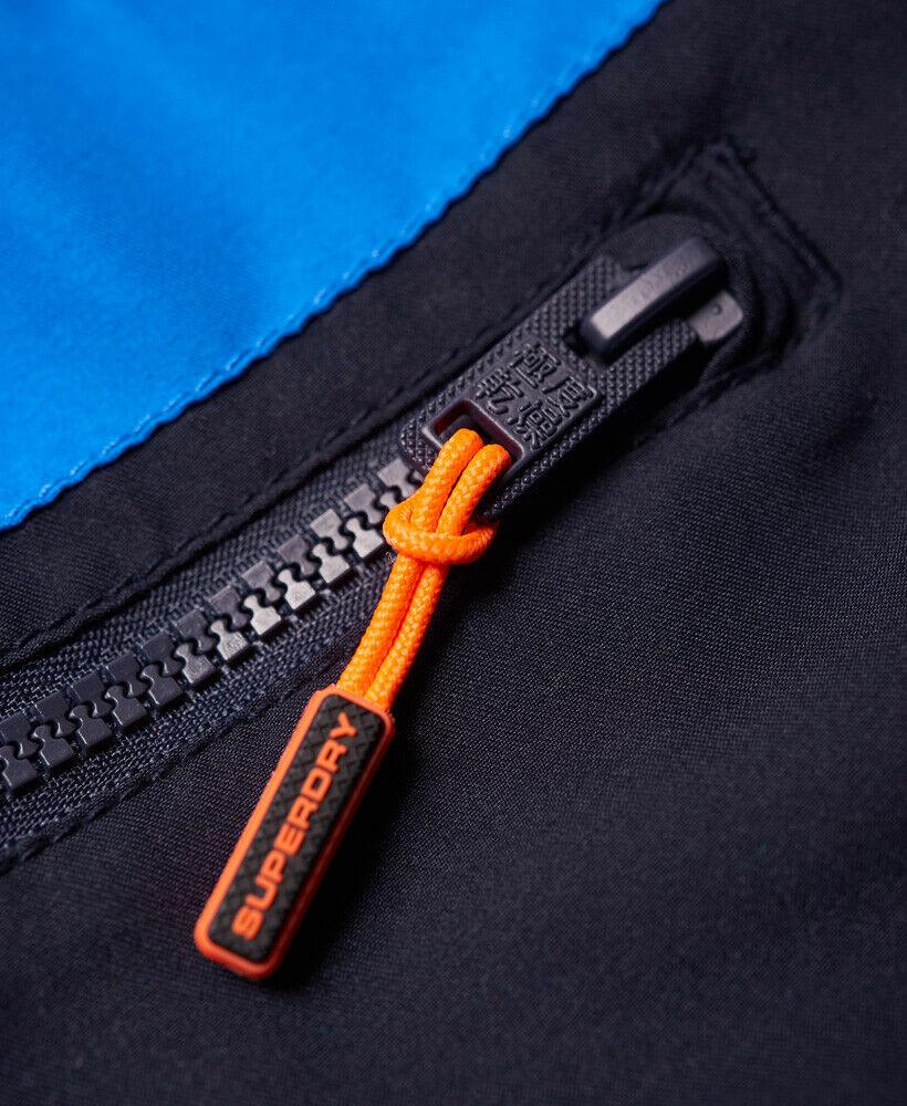 Mens-Superdry-Water-Polo-Banner-Swim-Shorts-Deck-Blue thumbnail 46