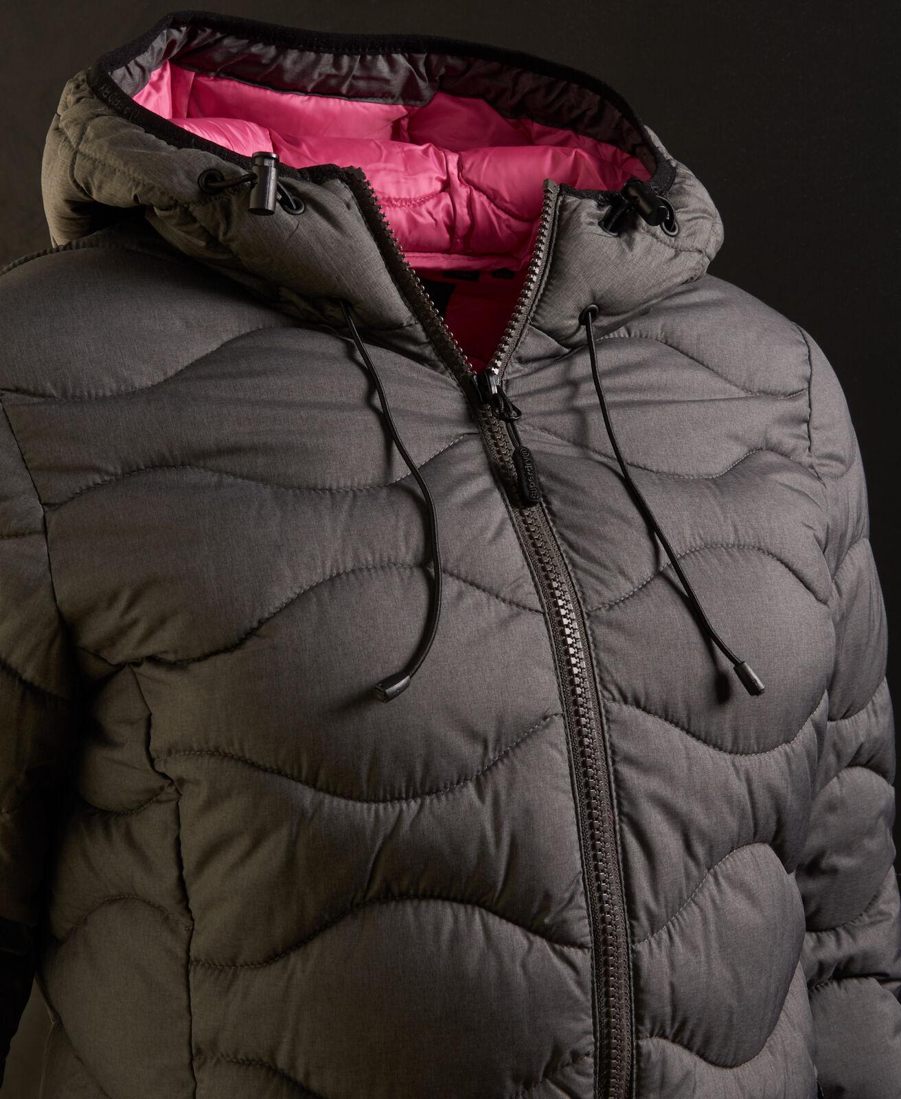 Womens-Superdry-Astrae-Quilt-Padded-Jacket-Dark-Grey thumbnail 18