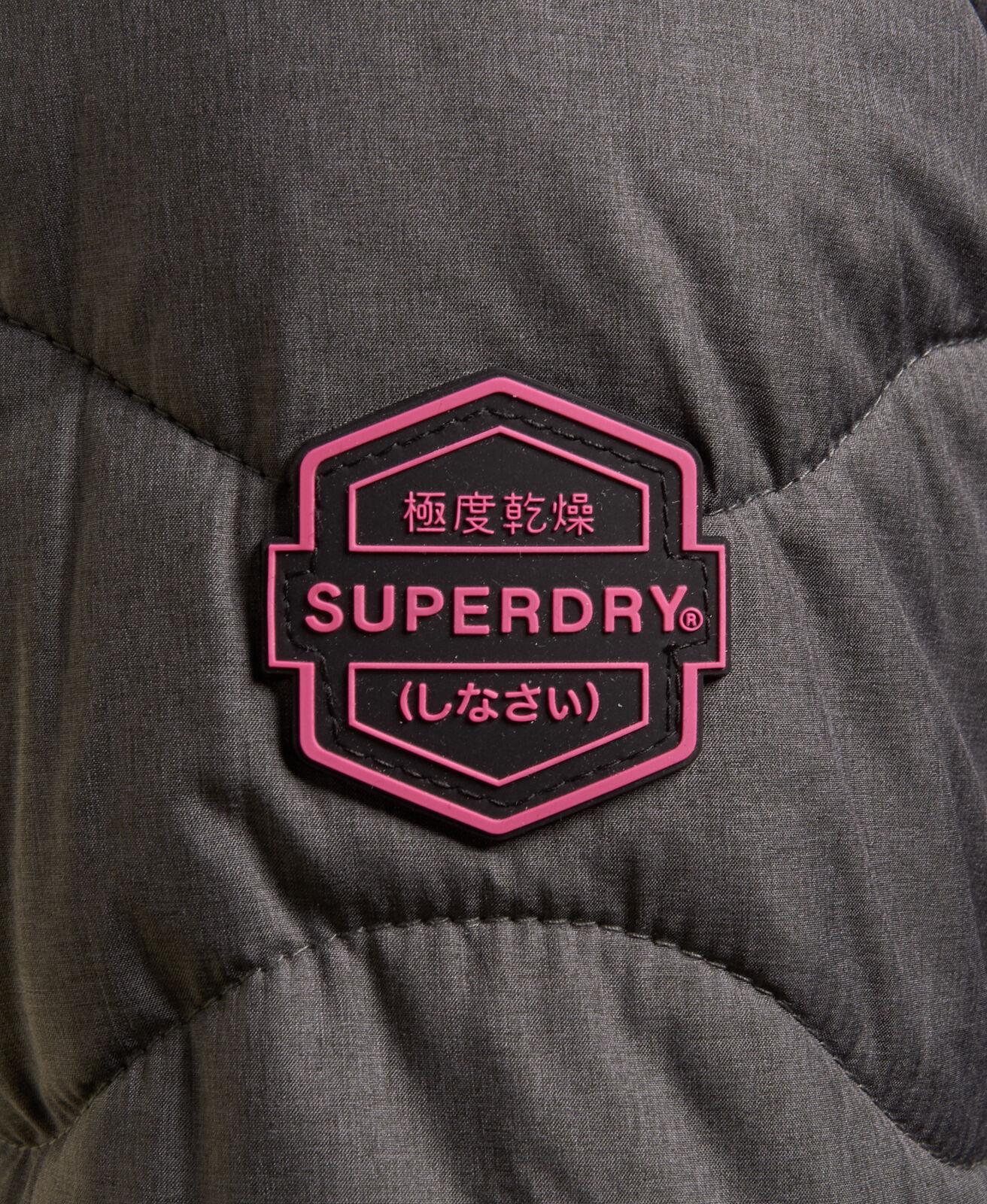 Womens-Superdry-Astrae-Quilt-Padded-Jacket-Dark-Grey thumbnail 10