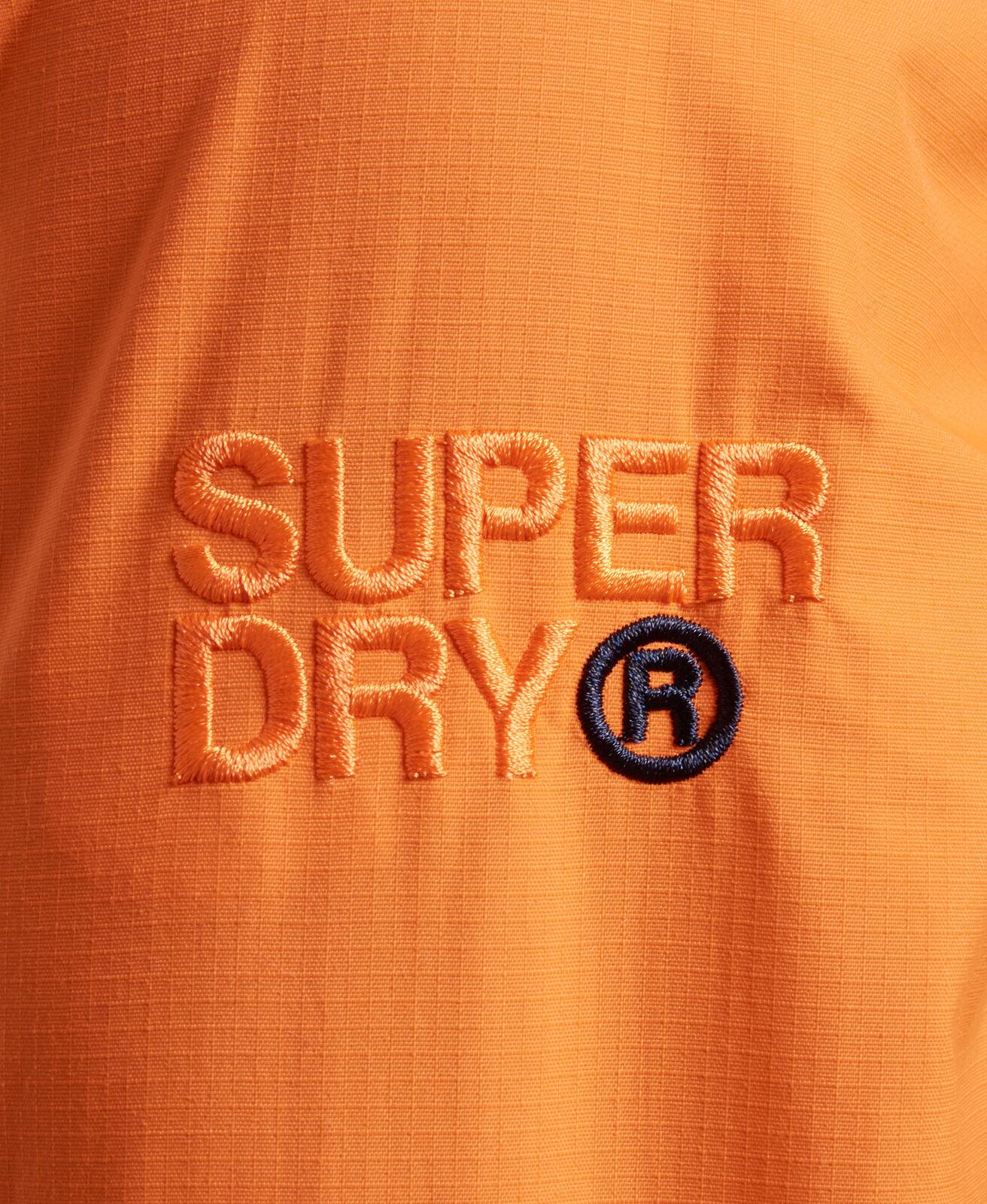 New-Mens-Superdry-Hooded-Technical-Pop-Zip-Sd-Windcheater-Nu-Orange thumbnail 7