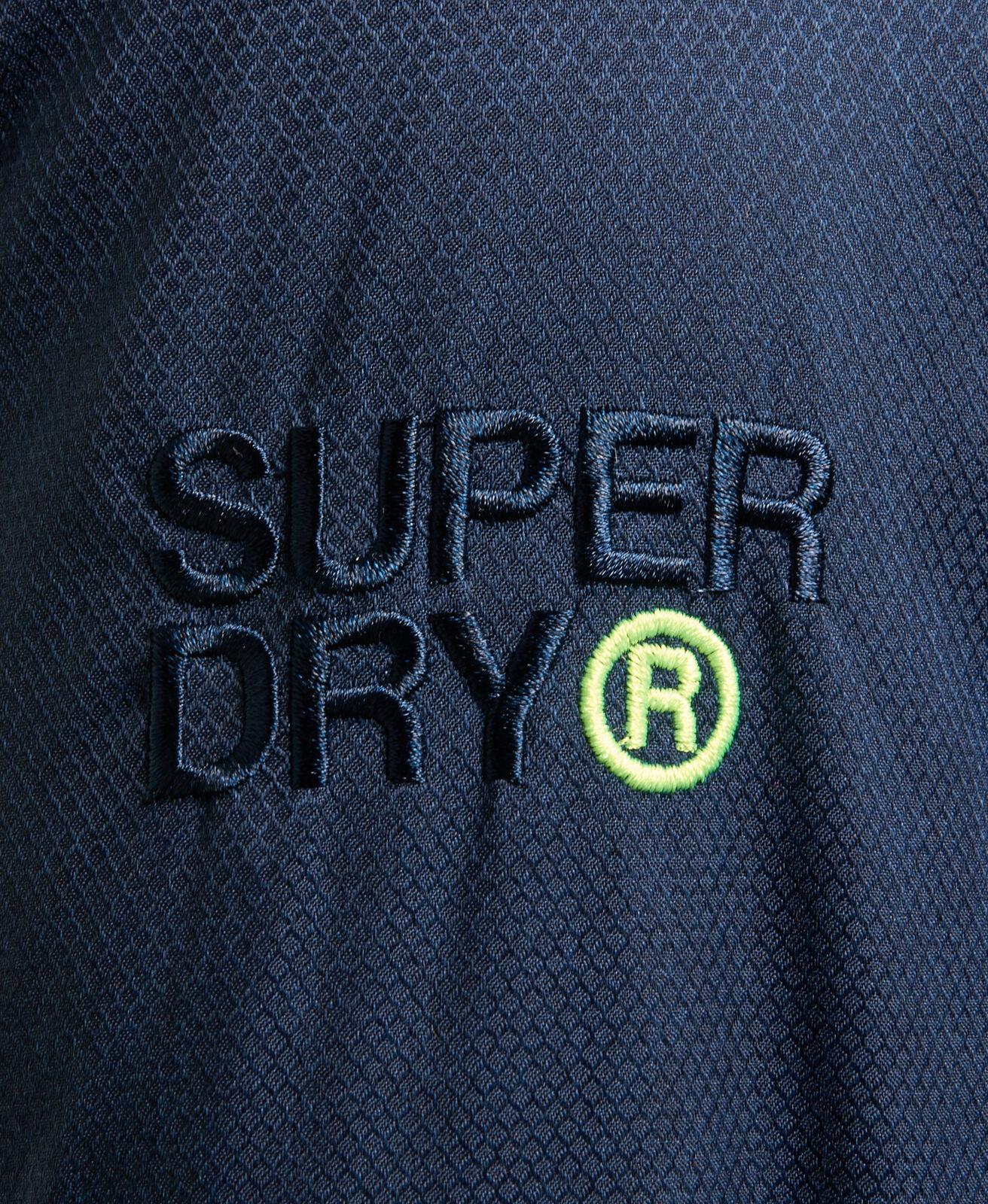 Nouveau Superdry Pop Zip pour Homme à Capuche ARCTIC SD-Anorak Bleu Marine Nautique