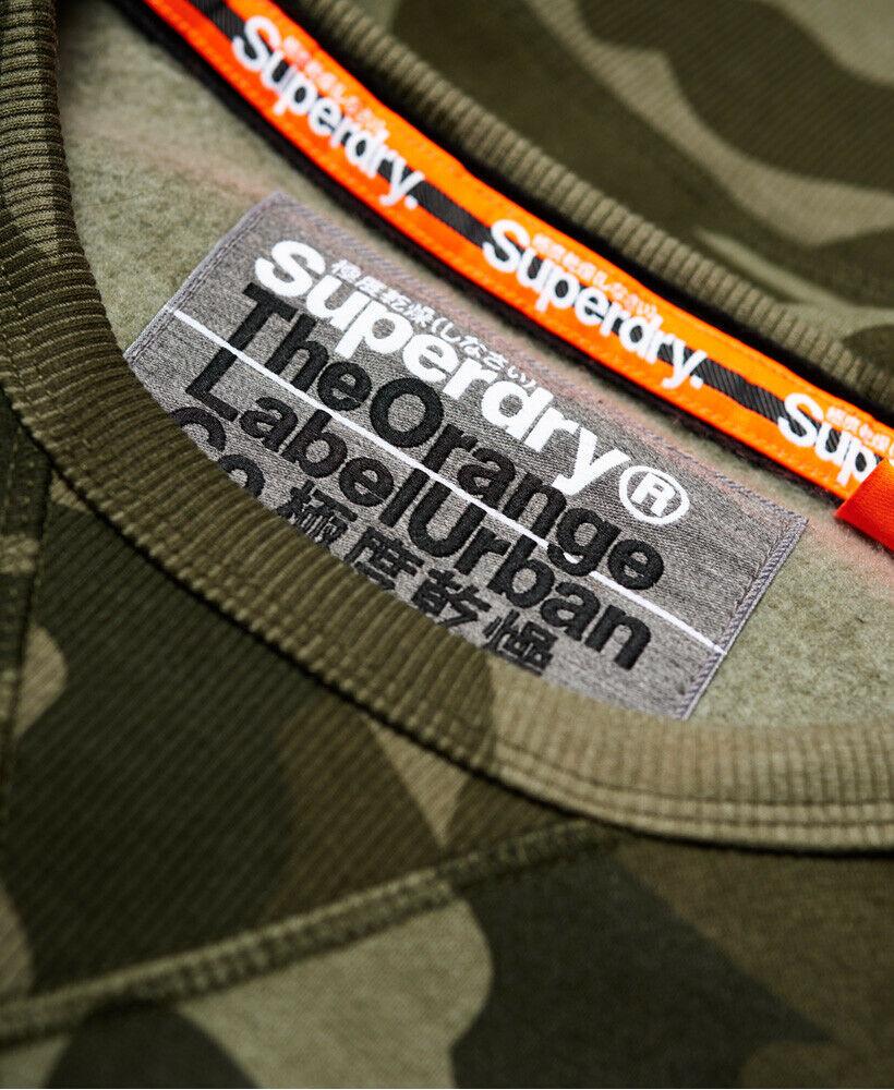Détails sur Nouveau Homme Superdry Orange Label Urban Sweat URBAN CAMO afficher le titre d'origine