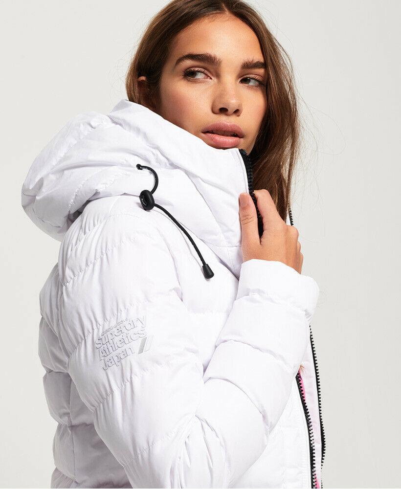 New-Womens-Superdry-SDX-Arctic-Hood-Jacket-Optic thumbnail 13