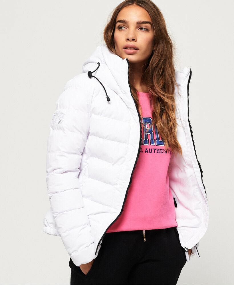 New-Womens-Superdry-SDX-Arctic-Hood-Jacket-Optic thumbnail 11