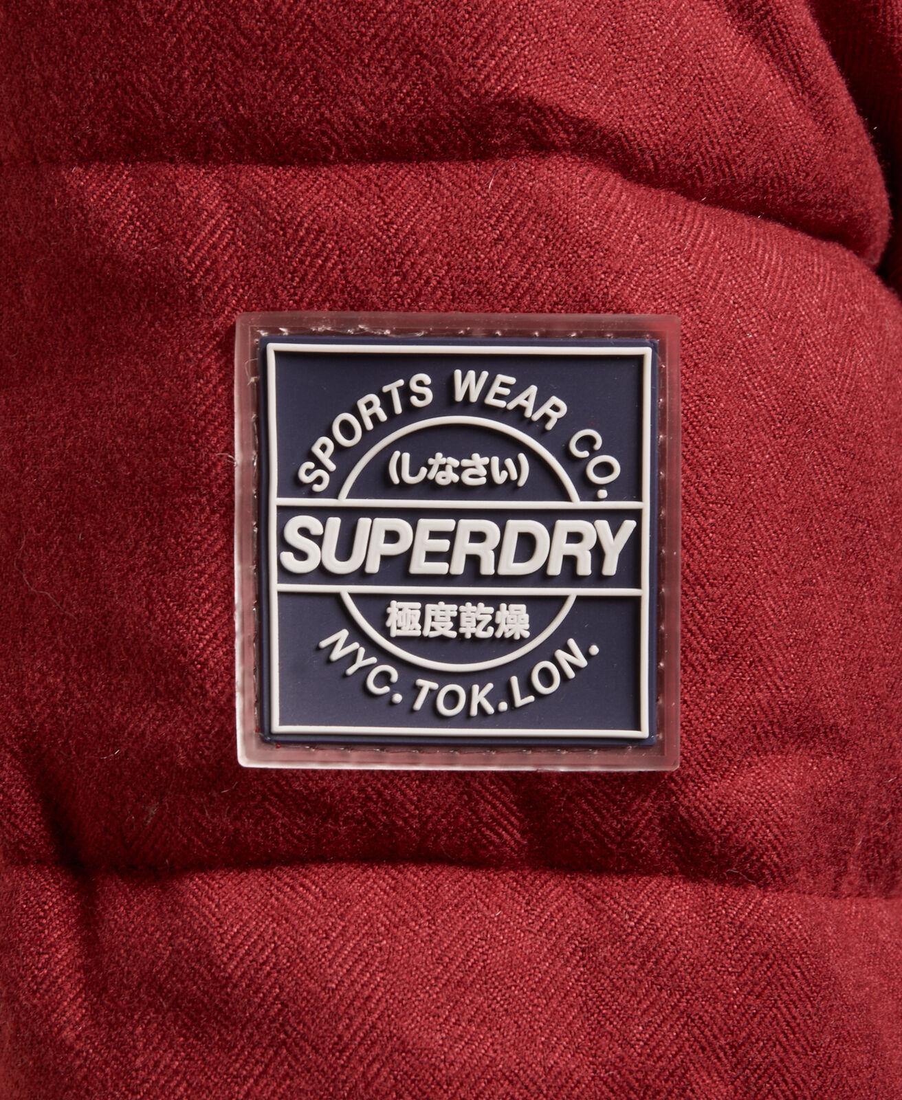 Superdry-Tall-Marl-Toggle-Puffle-Jacket thumbnail 11