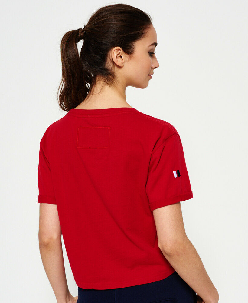 Superdry-Womens-Cropped-T-Shirt thumbnail 22