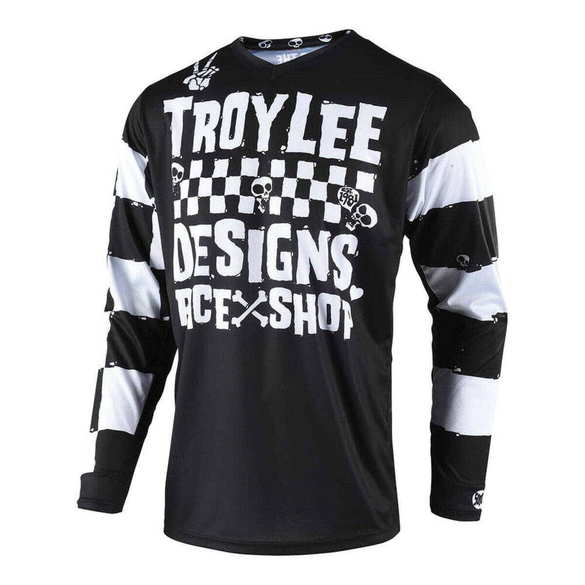 Jerseys Troy Lee Designs Gp Jersey 2019 Moto Black Motocross Mx Dirt Bike Atv All Sizes Sporting Goods