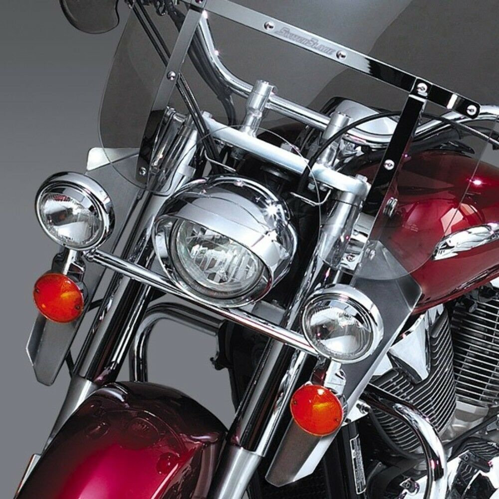 National Cycle N763A; Heavy Duty Chrome Lowers See application chart