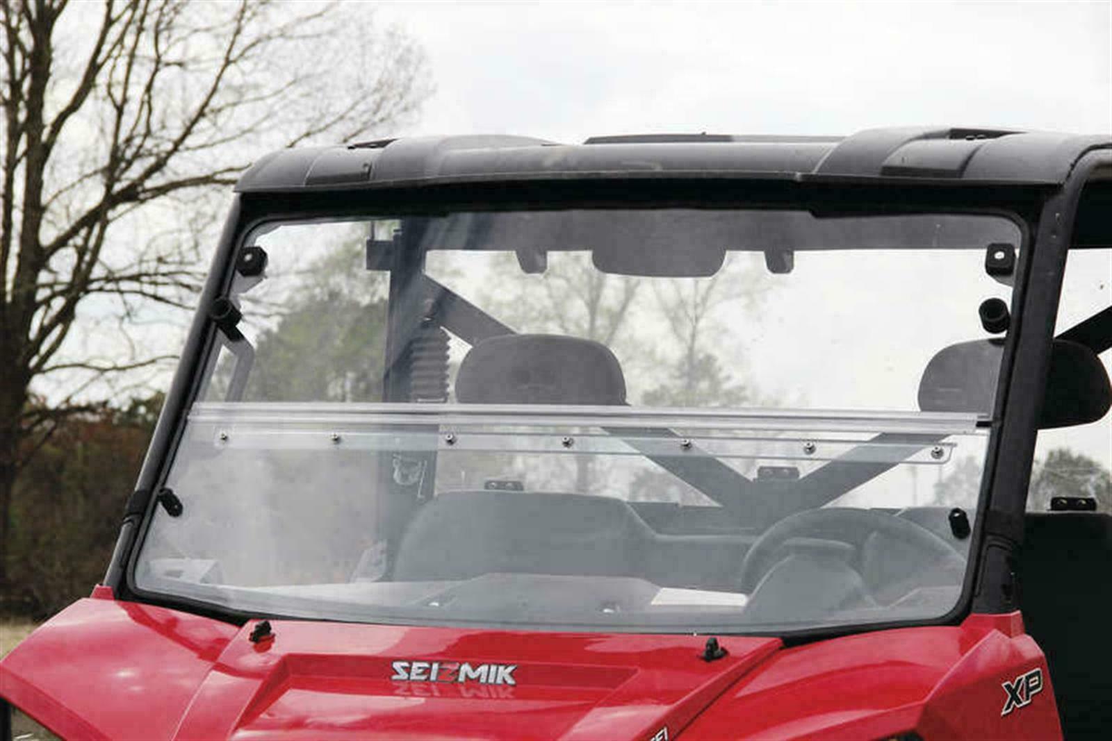 VINYL WINDSHIELD for 2013 POLARIS RANGER MIDSIZE 800 EFI 400 500 EV Crew Window