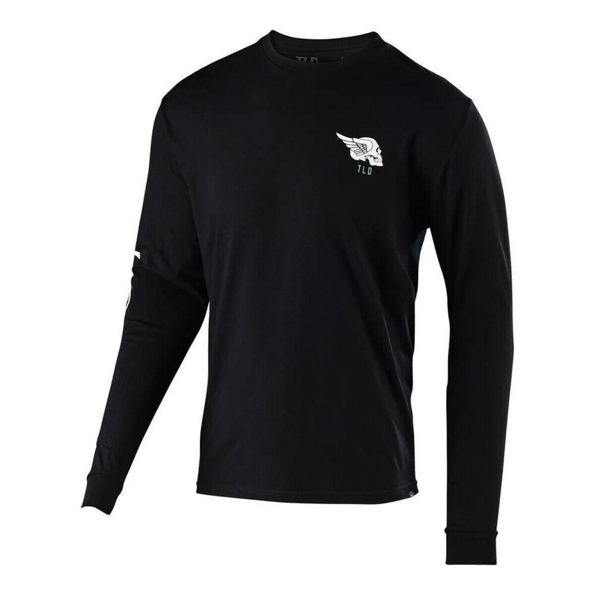 Troy Lee Designs Precision 2.0 Youth Short Sleeve T-Shirt Black