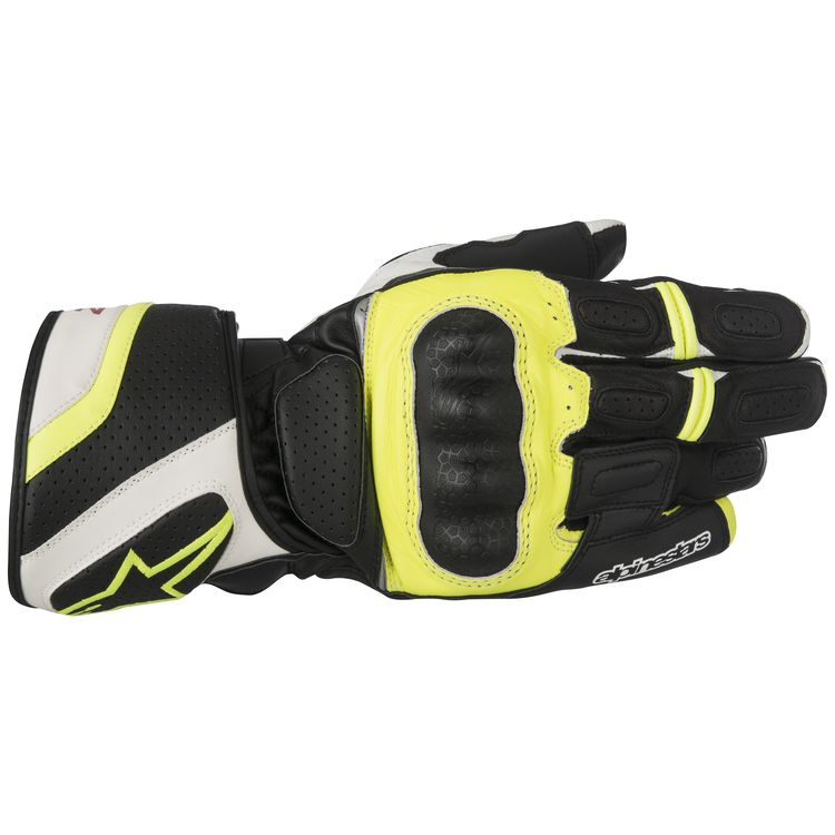 Alpinestars SP-Z Red SPZ Glove Drystar Waterproof Motorcycle Summer Gloves