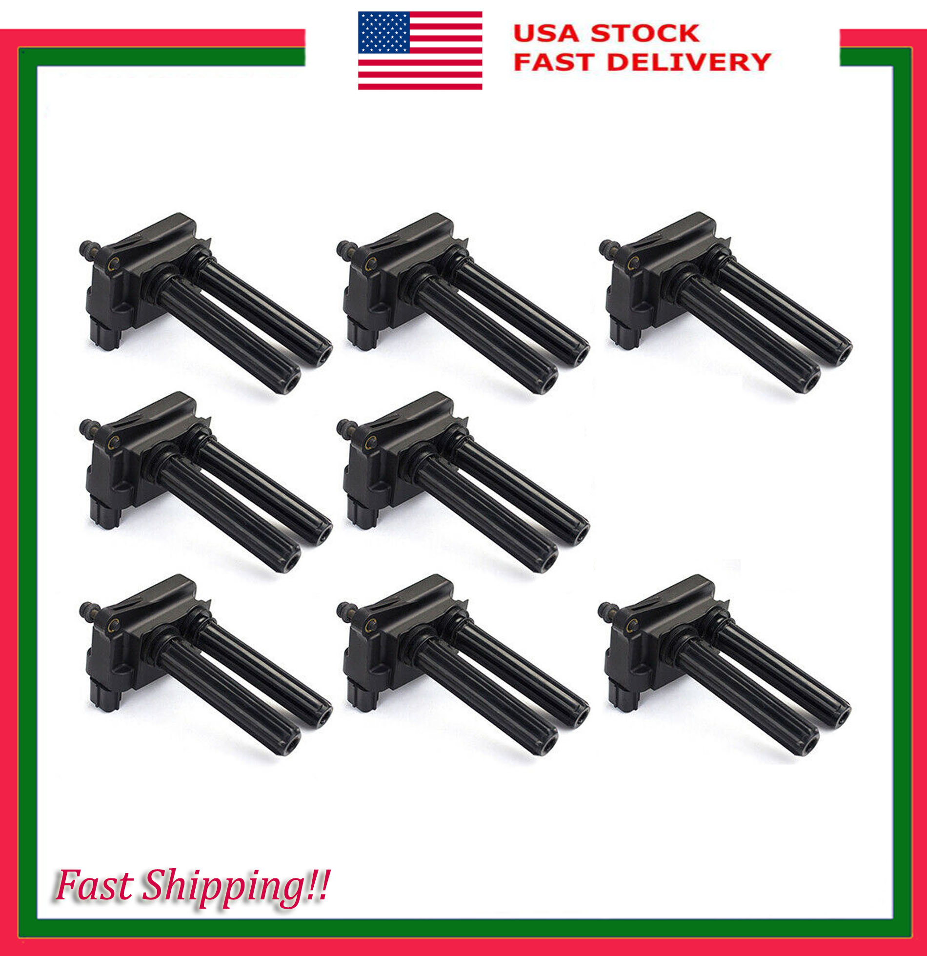 8x Ignition Coil Pack fits  for Dodge Ram 1500//2500//3500 Durango Magnum