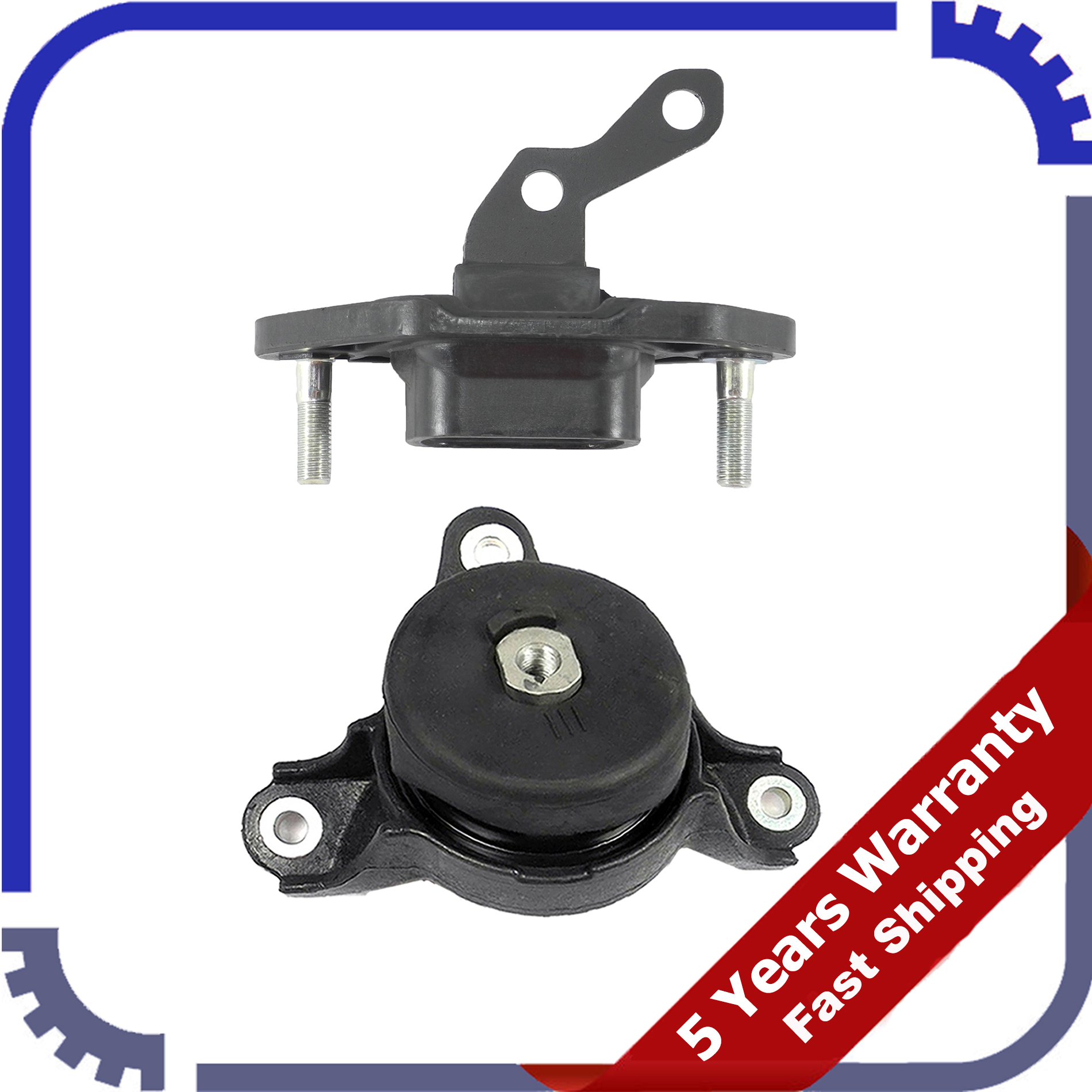 Engine Motor & Trans Mount Set 2 For M223 Honda Accord