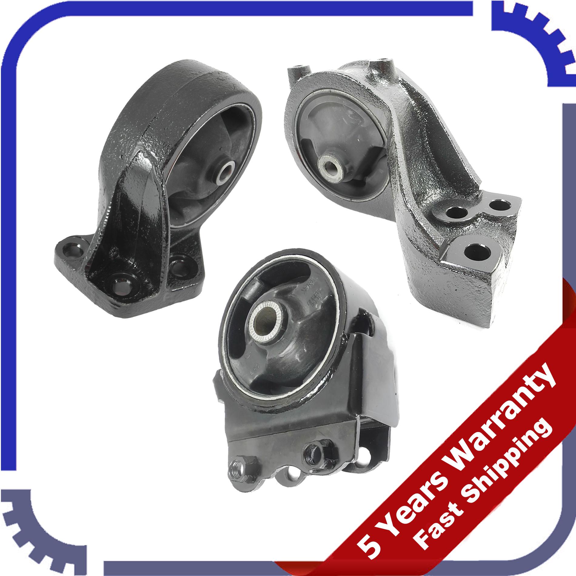 Motor Mount /& Auto Trans Mount 3PCS Kit for 02-05 Hyundai Sonata 2.4L//2.7L