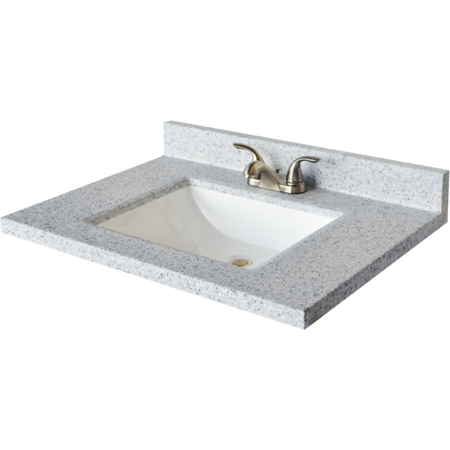 37 Inch S X 19 Inch S Moonscape Wave Cultured Granite Vanity Top With White Ebay