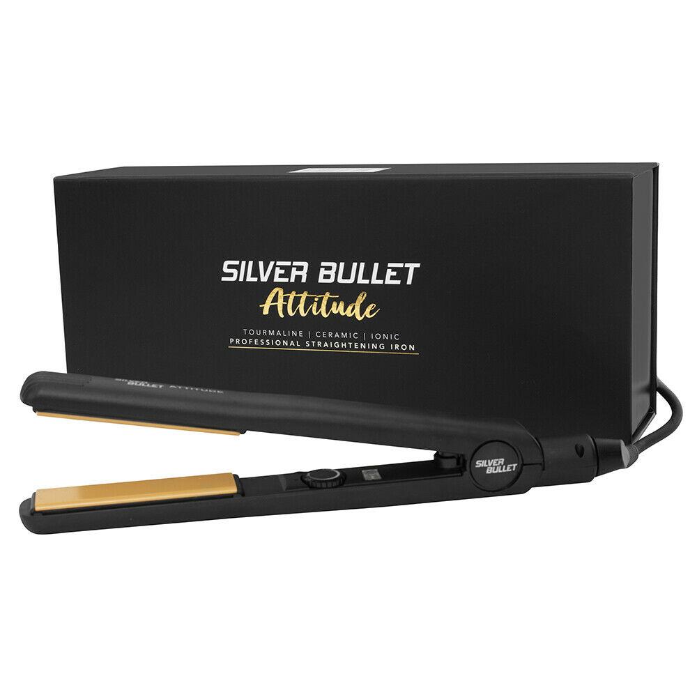 Silver-Bullet-Attitude-Straightener-NYM-Beat-The-Heat-Spray-Glomesh-Bag-Pack thumbnail 7