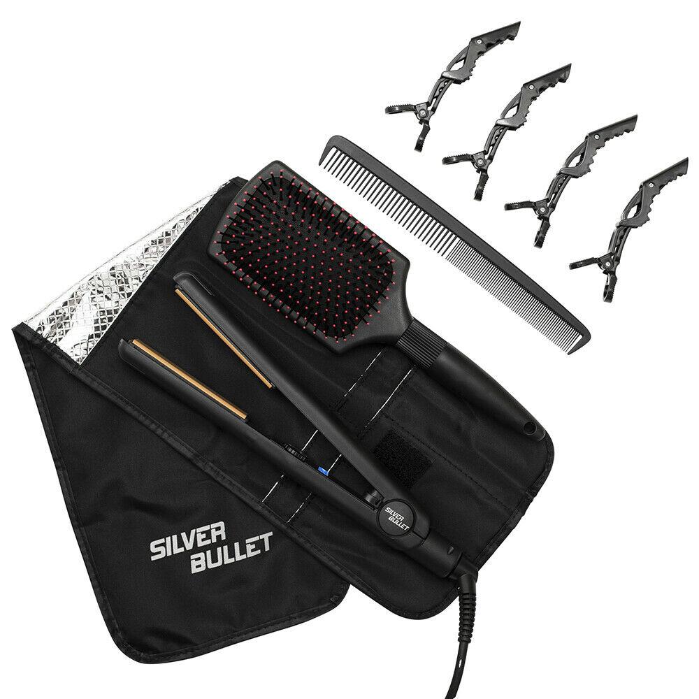 Silver-Bullet-Attitude-Straightener-NYM-Beat-The-Heat-Spray-Glomesh-Bag-Pack thumbnail 8