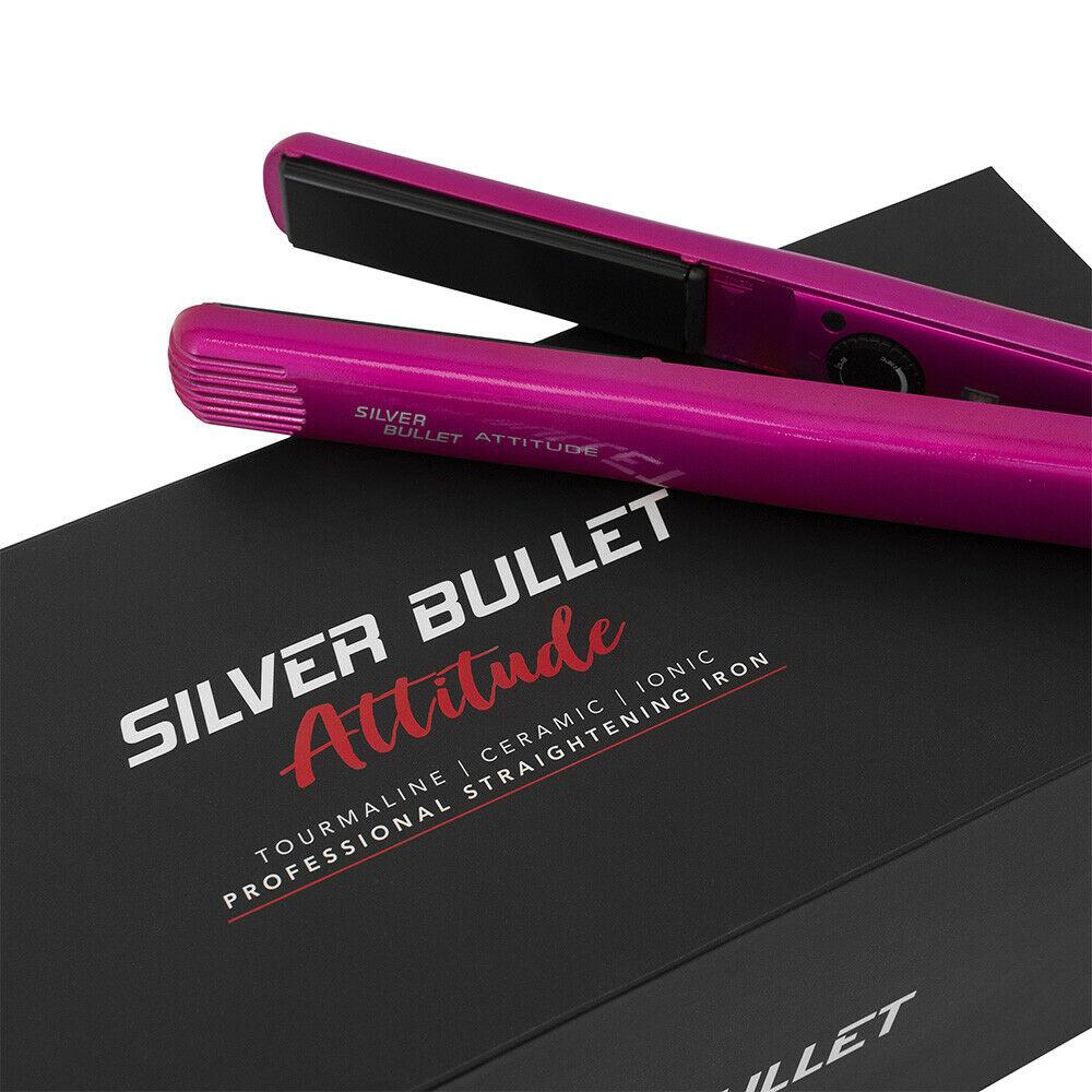 Silver-Bullet-Attitude-Straightener-NYM-Beat-The-Heat-Spray-Glomesh-Bag-Pack thumbnail 16