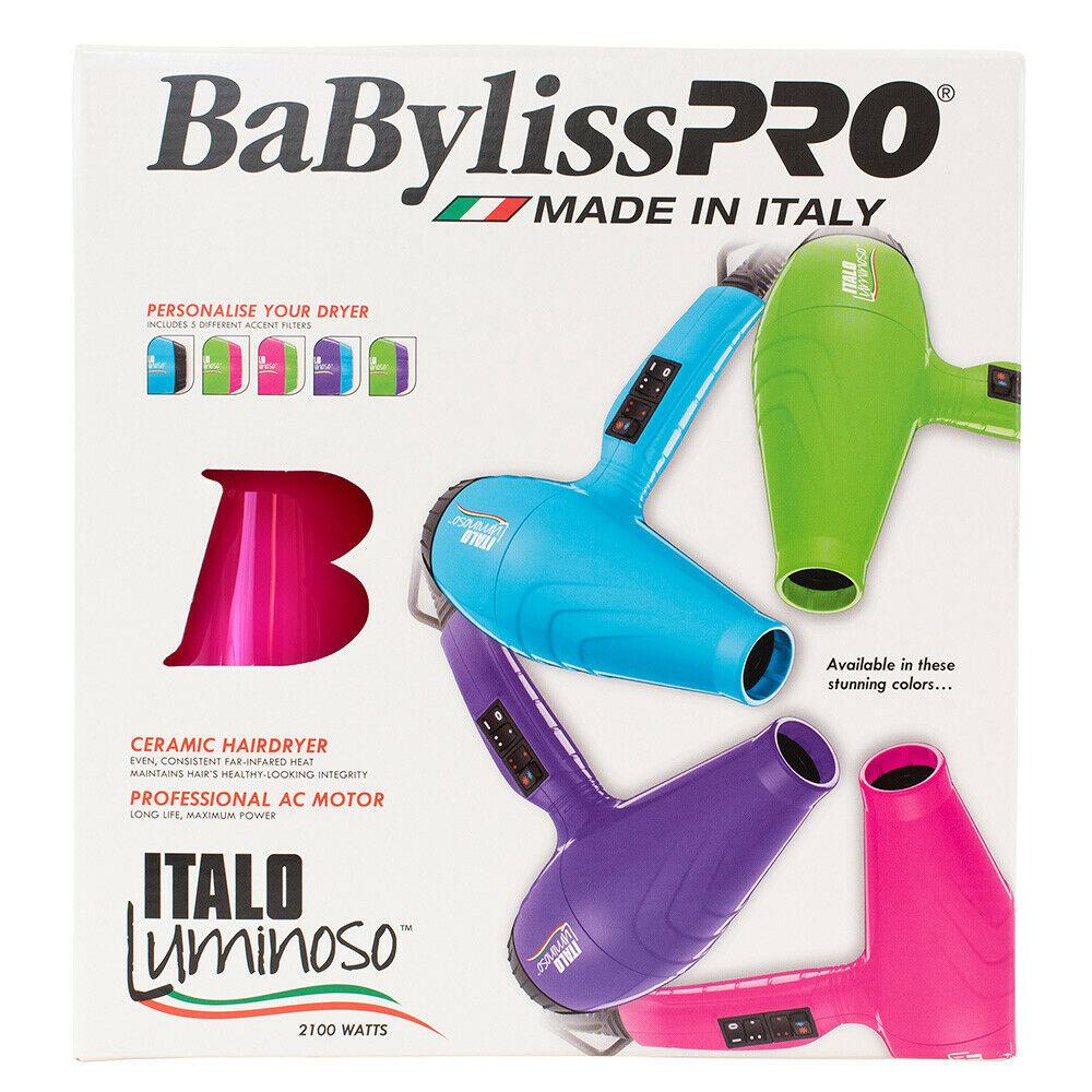 BaBylissPRO-Luminoso-2100W-Hair-Dryer-Brushworx-Porcupine-Cushion-Brush-Pack thumbnail 23