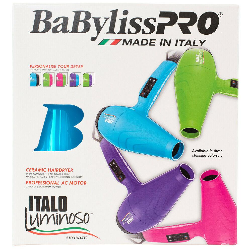 BaBylissPRO-Luminoso-2100W-Hair-Dryer-Brushworx-Porcupine-Cushion-Brush-Pack thumbnail 7
