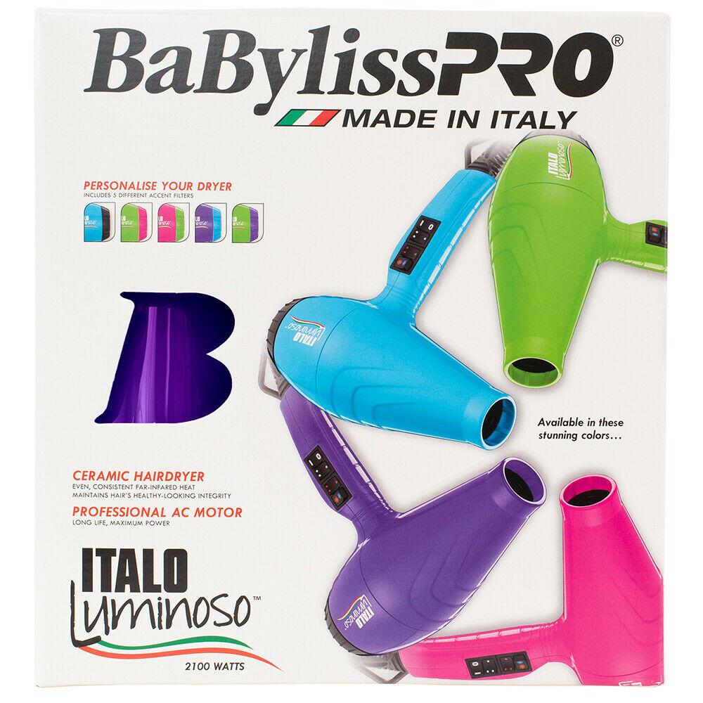BaBylissPRO-Luminoso-2100W-Hair-Dryer-Brushworx-Porcupine-Cushion-Brush-Pack thumbnail 31