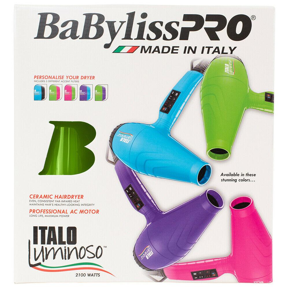 BaBylissPRO-Luminoso-2100W-Hair-Dryer-Brushworx-Porcupine-Cushion-Brush-Pack thumbnail 15