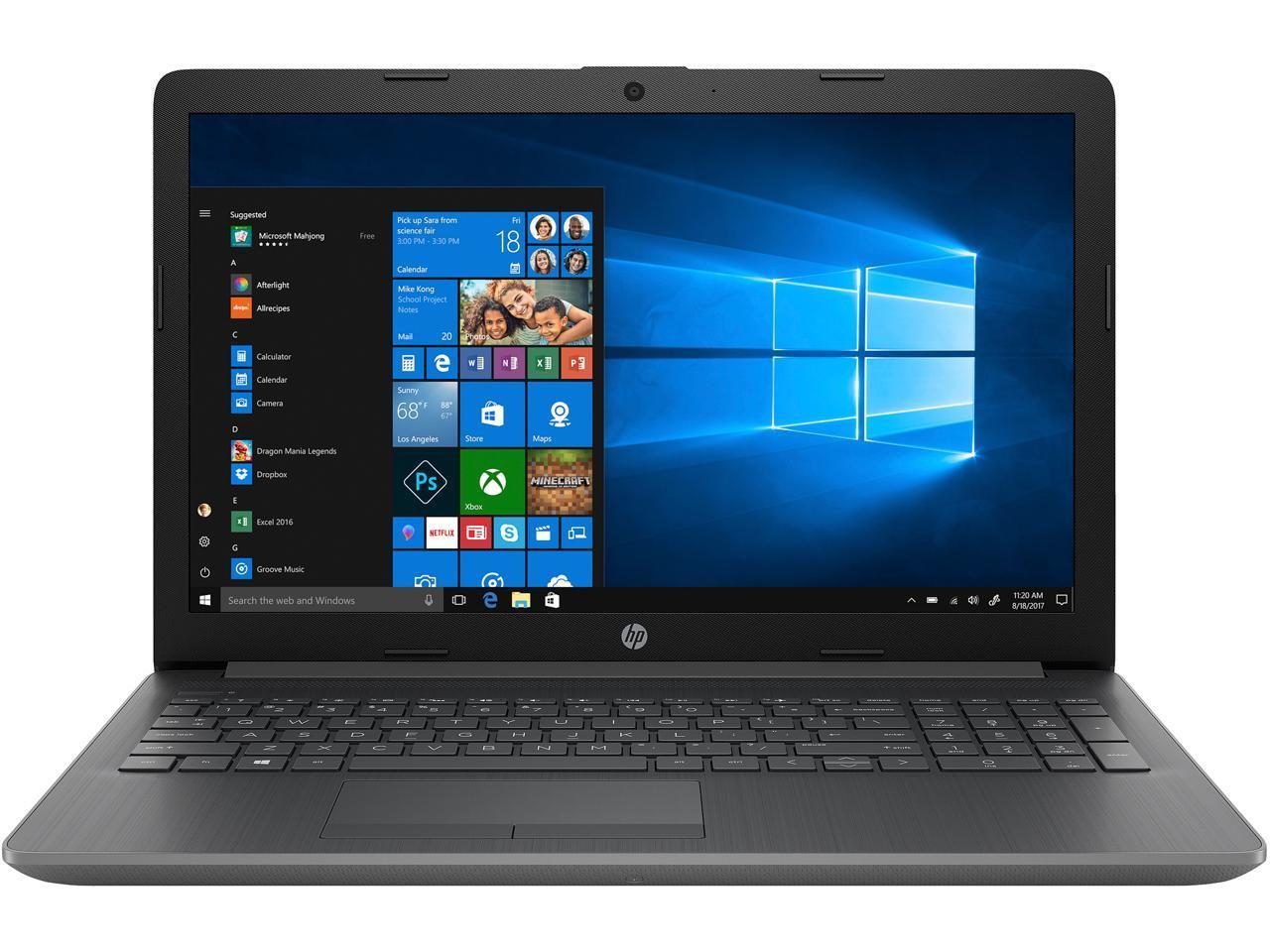 Hp 15 Db0050nr 15 6 Laptop Amd A4 9125 2 3 Ghz 4gb 128gb Ssd Dvd Radeon R3 W10 193424600687 Ebay