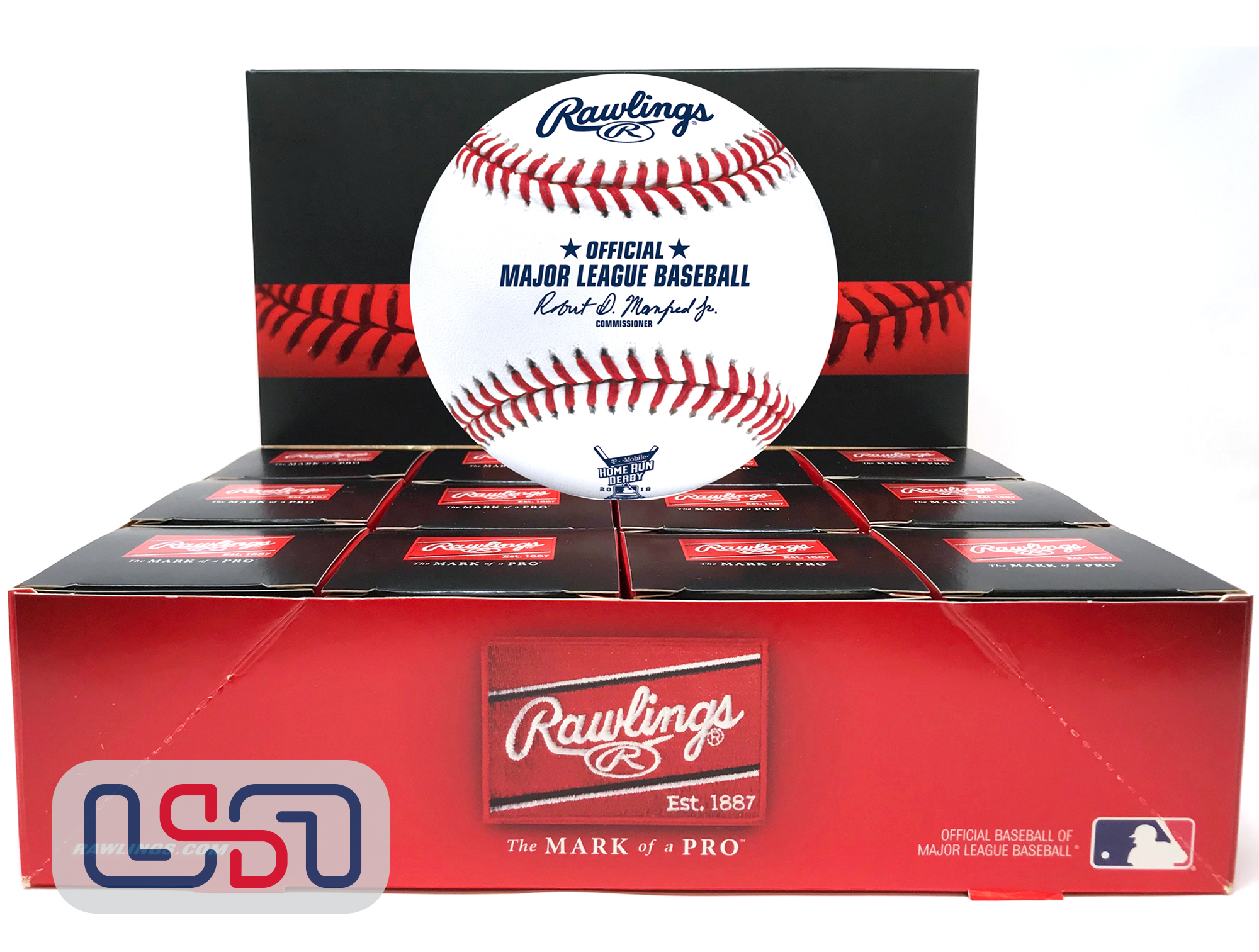 Rawlings Official 2018 Home Run Derby Major League Baseball Washington Boxed