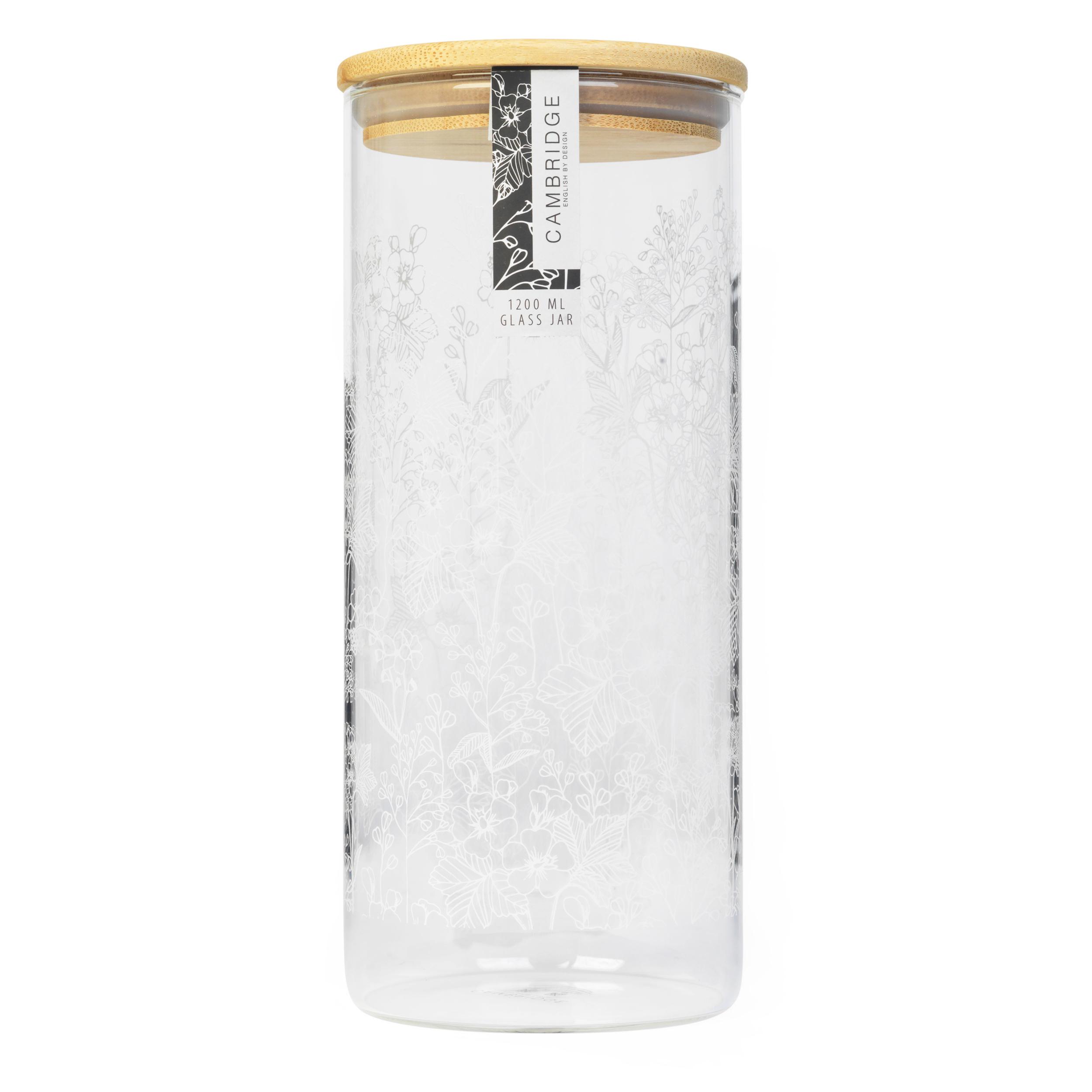 thumbnail 16 - Cambridge® Storage Preserving Glass Jar, 1200 ml, Spring Meadow/Doodle/Arielle