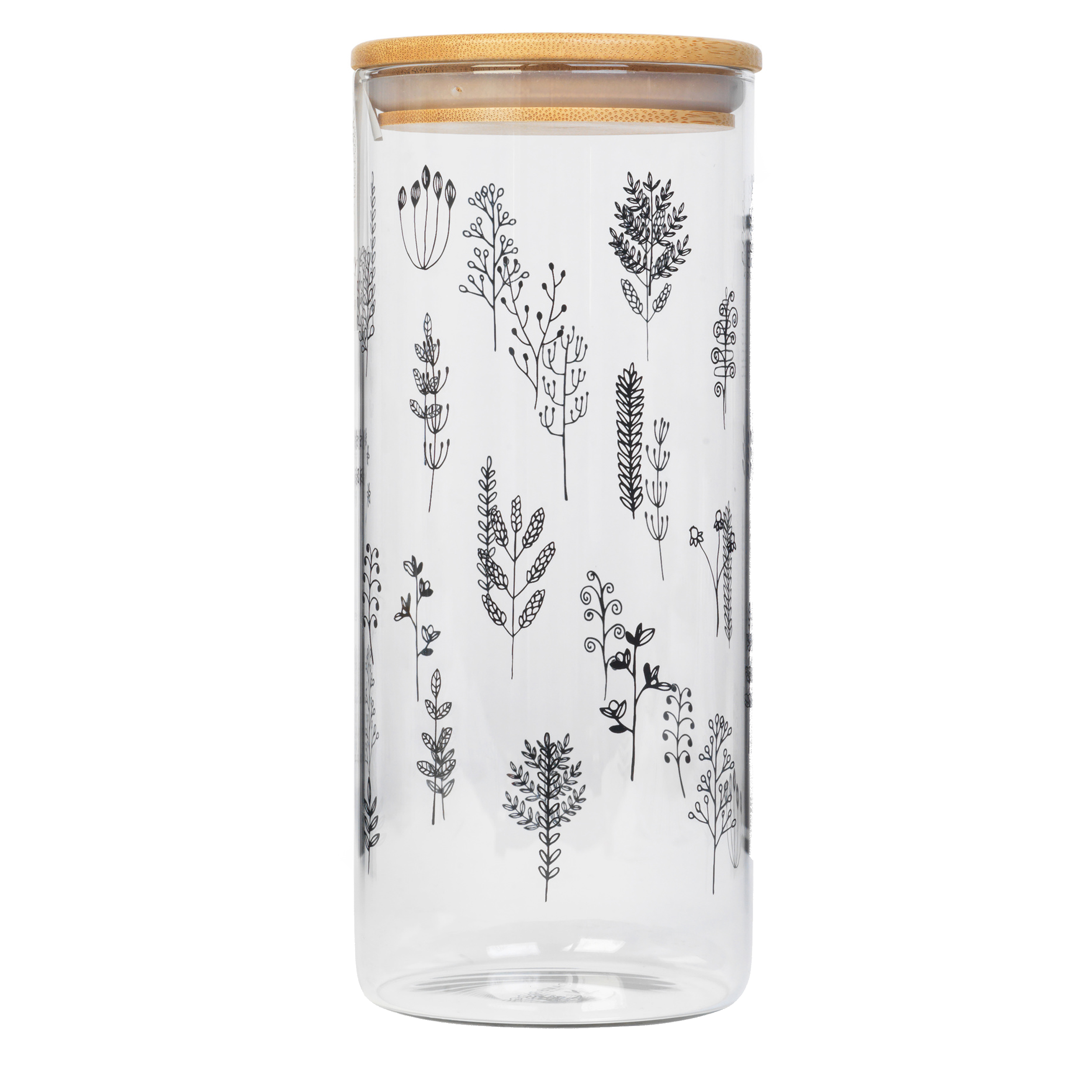 thumbnail 9 - Cambridge® Storage Preserving Glass Jar, 1200 ml, Spring Meadow/Doodle/Arielle