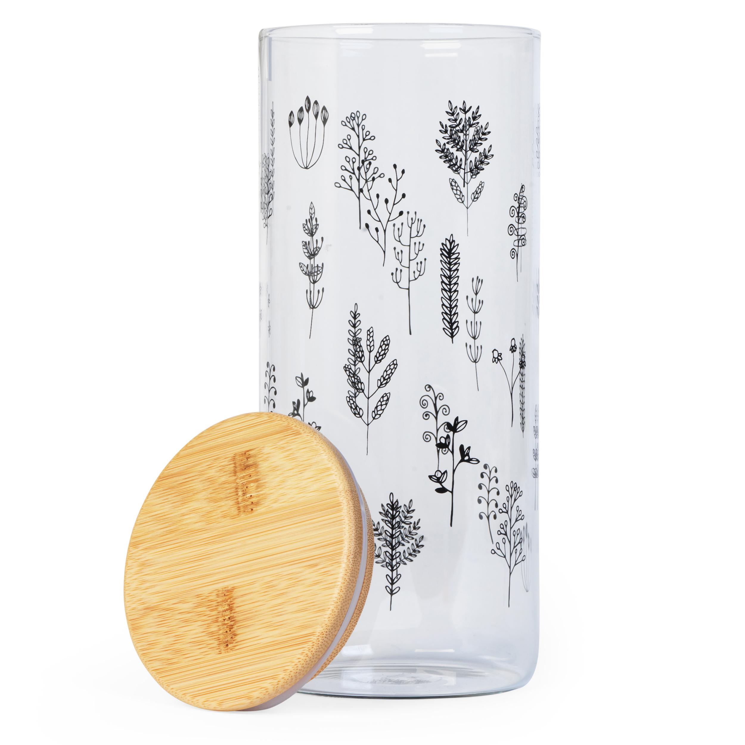 thumbnail 10 - Cambridge® Storage Preserving Glass Jar, 1200 ml, Spring Meadow/Doodle/Arielle