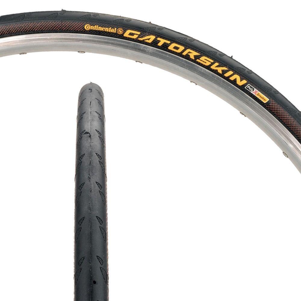 700x25, Folding, Black 2 pack Continental Ultra Gatorskin Bicycle Tire