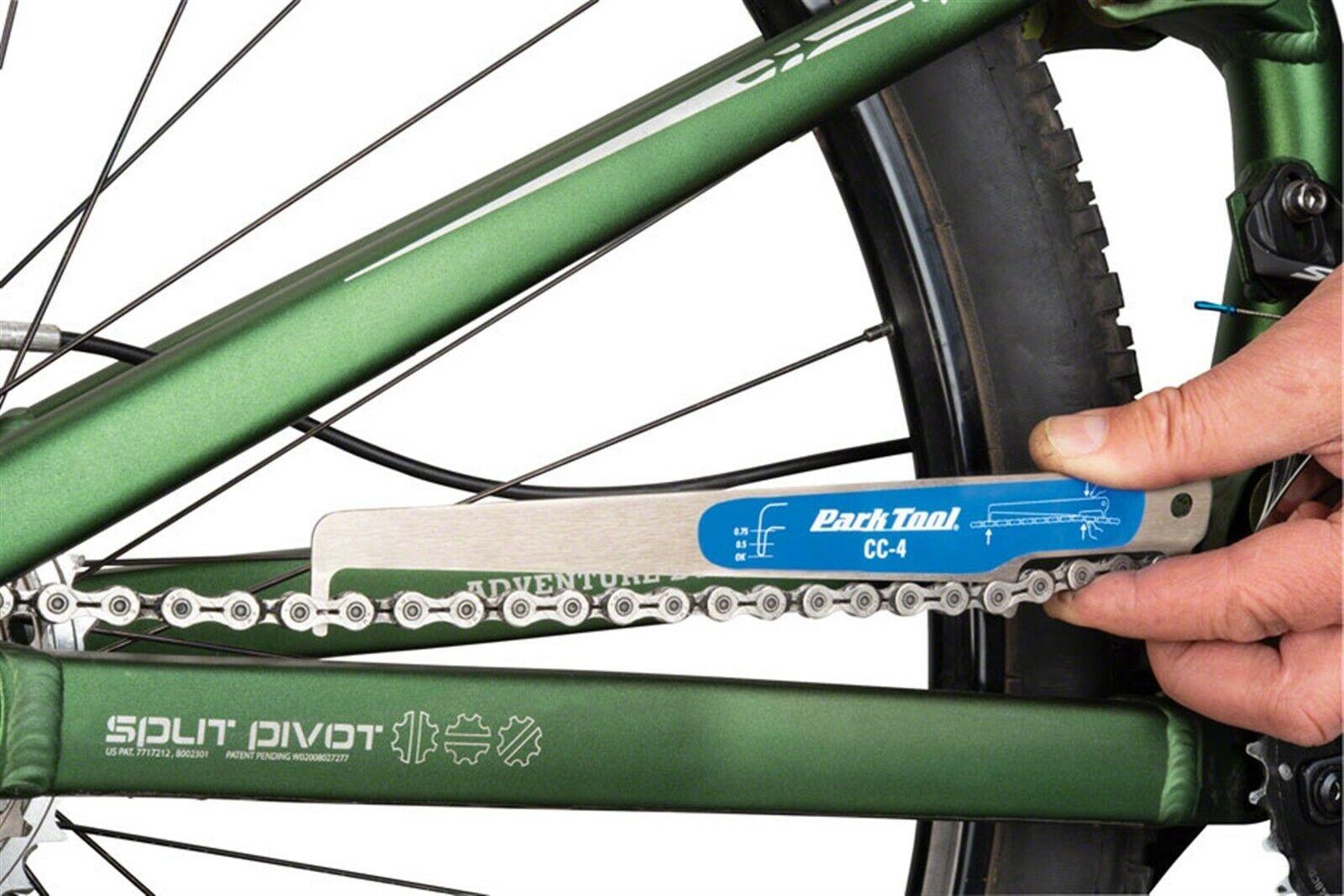 Park Tool CC-4 Chain Checker Wear Indicator Repair MTB Road Hybrid Fixie Bike