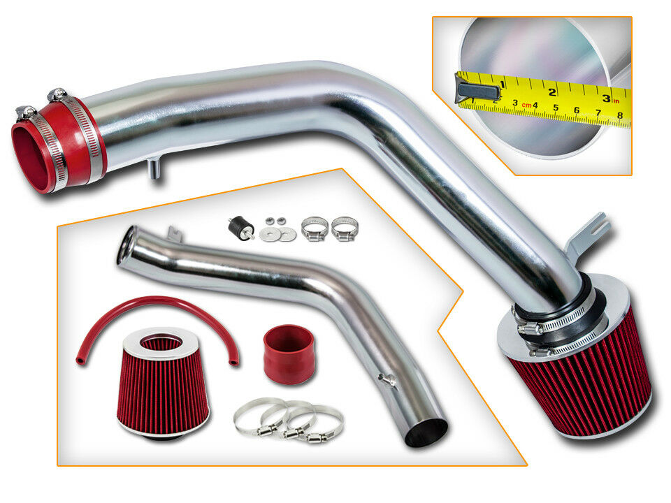 BCP RED For 04-08 Acura TL Base 3.2L V6 Cold Air Intake ...