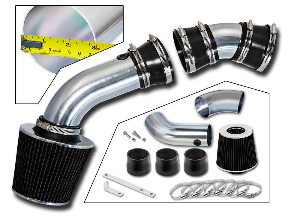 K2500 5.0L 5.7L V8 GMC K1500 Black Short Ram Air Intake For 88-95 Chevy