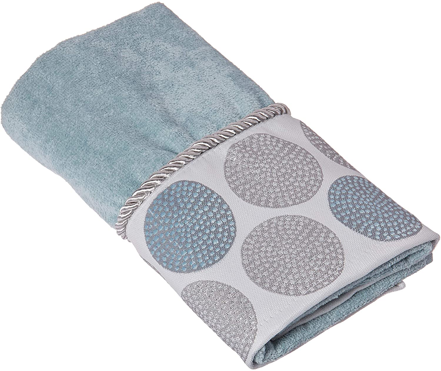 Blue Size One Waterworks Studio Perennial Combed Turkish Cotton Hand Towel