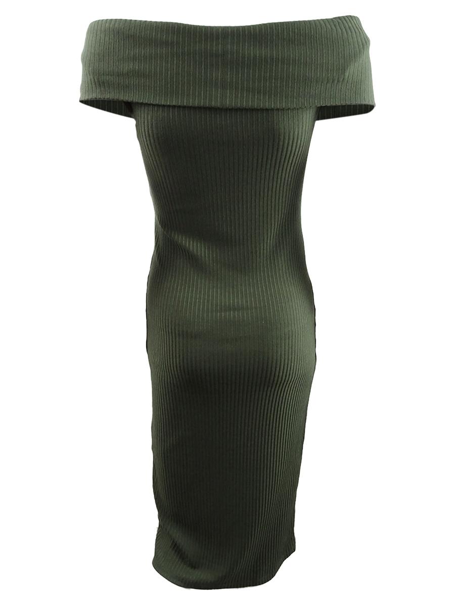 Michael-Michael-Kors-Women-039-s-Crossover-Sweater-Dress thumbnail 4