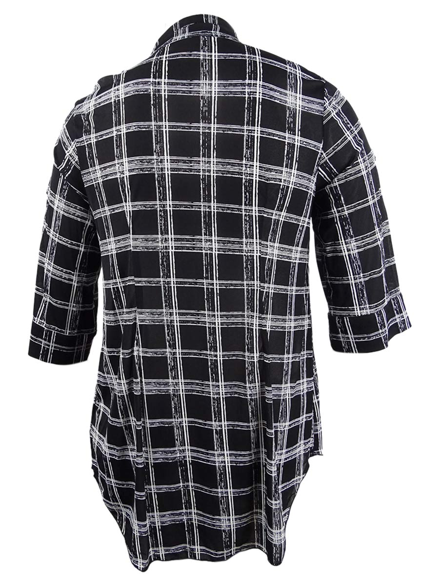Style-amp-Co-Women-039-s-Plus-Size-Printed-Tunic-Shirt thumbnail 4