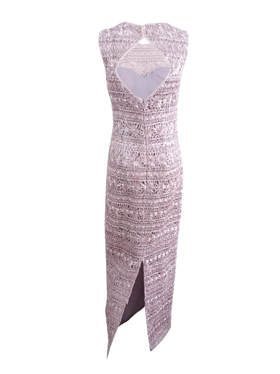 JS-Collections-Women-039-s-Soutache-Open-Back-Gown thumbnail 4