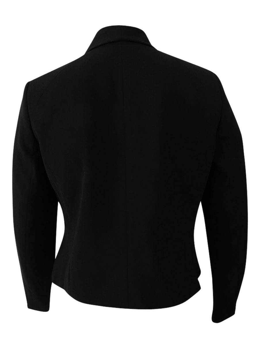 Nine-West-Women-039-s-Shawl-Collar-Blazer thumbnail 4