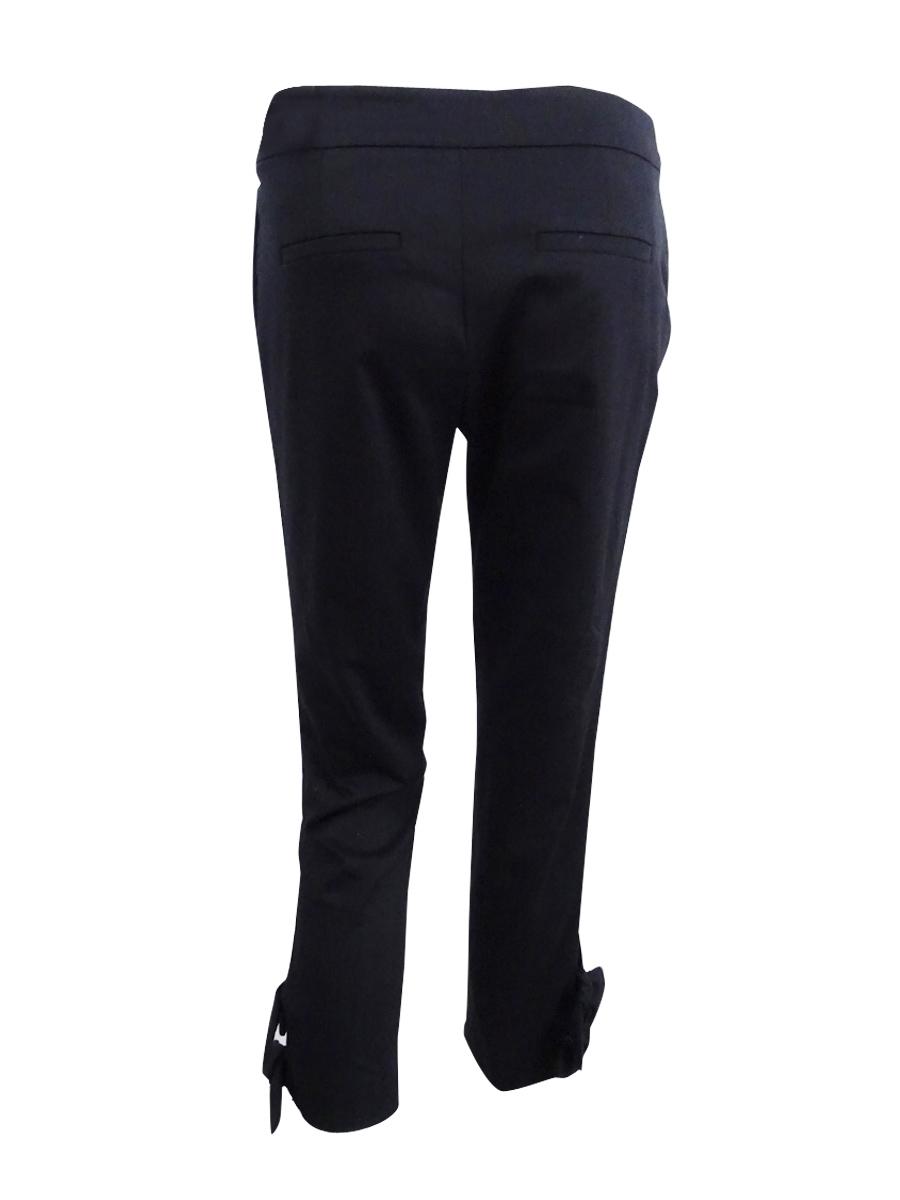 Pantalon pour femmes skinny à nouer basse taille Oq7HOrwC