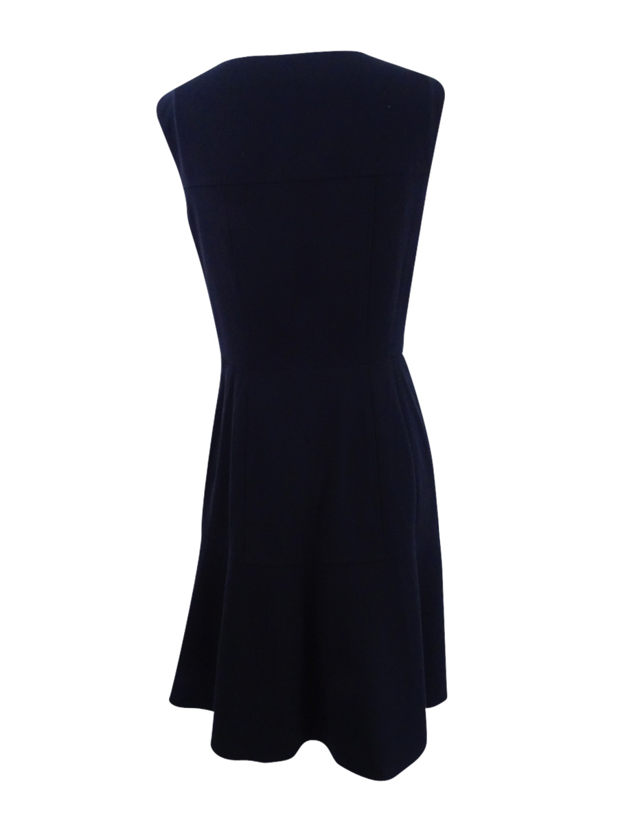 Nine-West-Women-039-s-The-Essential-Fit-amp-Flare-Dress thumbnail 4