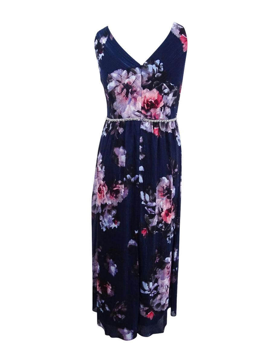 SL-Fashions-Women-039-s-Embellished-Maxi-Dress thumbnail 4