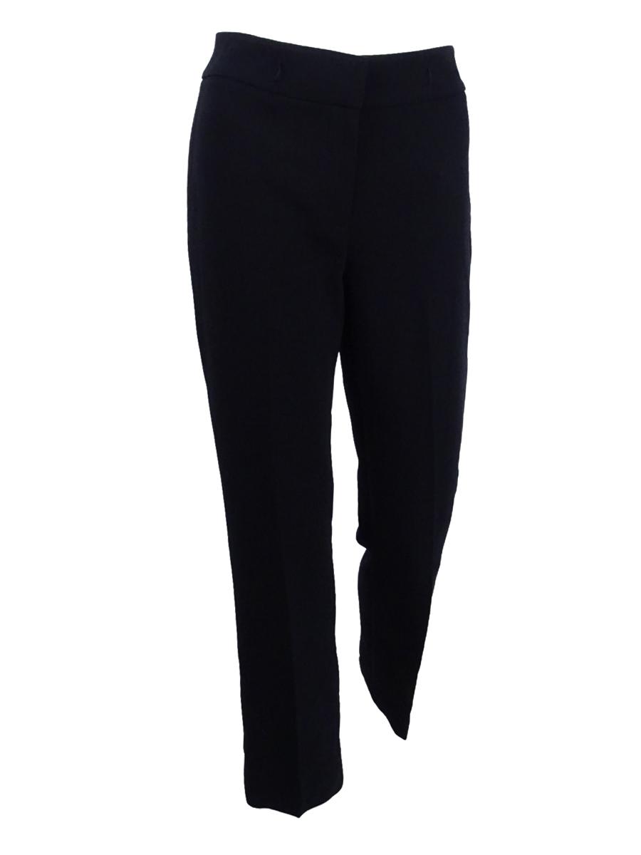 d00d9d5980d Tahari by ASL Black Women s Size 8p Petite Chain Belt Dress Pants ...