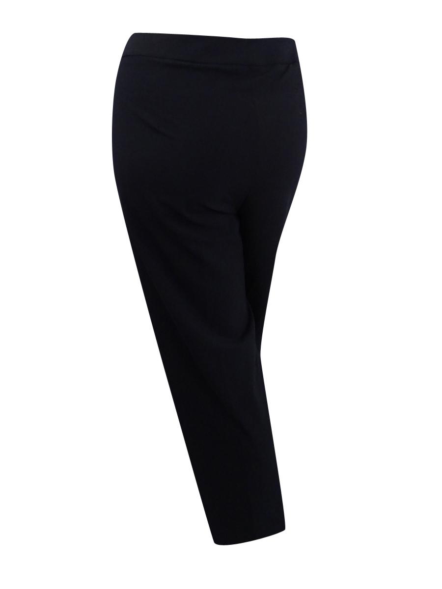 Details about Calvin Klein Women\'s Plus Size Wide-Leg Dress Pants