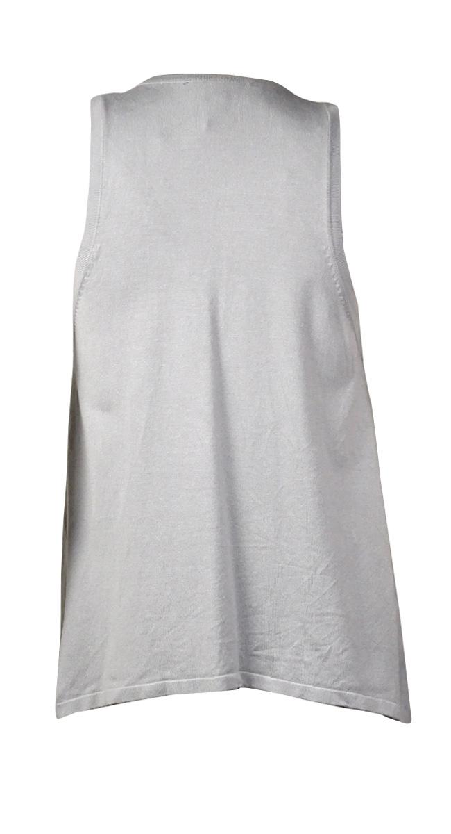 thumbnail 8 - INC International Concepts Women's Fringed Faux-Suede Vest